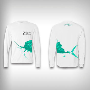 Just Fishin - Performance Shirt - Fishing Shirt
