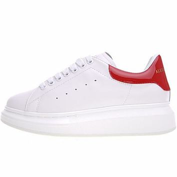 "Alexander McQueen sole ""White&Red"" sneakers"
