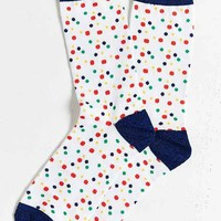 Small Dots Crew Sock