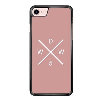 Why Dont We Merch Logo Pink iPhone 7 Plus Case