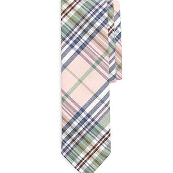 Plaid Slim Tie - Brooks Brothers