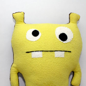 Booga-The Monster Plush, Custom, Stuffed Animal, Soft Toy, Softie