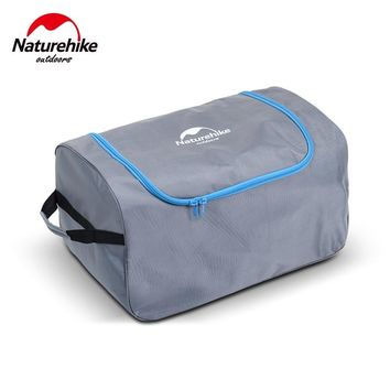 Naturehike large capacity swimming bags trunk kit box travel Storage Totes outdoor tools Bags pack handle bag With wheels