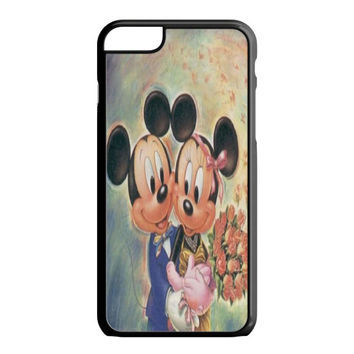 Vintage Mickey Mouse and Minnie Mouse iPhone 6S Plus Case