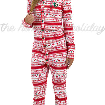 Reindeer One Piece Loungewear