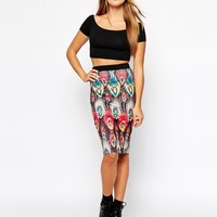 Poppy Lux Azalia Pencil Skirt