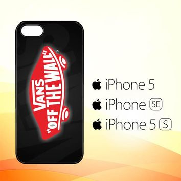 vans off the wall logo Z2140  iPhone 5|5S|SE Case