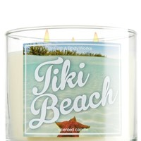 14.5 oz. 3-Wick Candle Tiki Beach