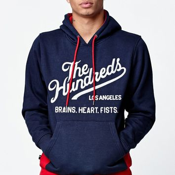 The Hundreds Milestone Pullover Hoodie - Mens Hoodie - Blue