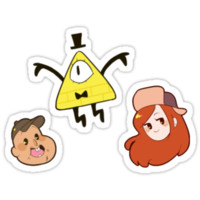 Gravity Falls 3 by toifshi