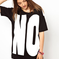 Monki | Monki No Yes Tee at ASOS