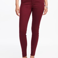 Mid-Rise Rockstar Pop-Color Skinny Jeans for Women | Old Navy