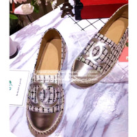 Chanel Fashion Espadrilles For Women Shoes Plaid B-TFDXY-XNEDX
