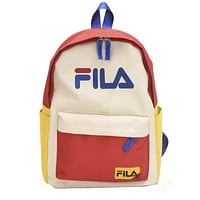 FILA 2019 new simple men and women leisure travel backpack #2