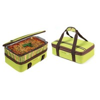 Rachael Ray Expandable Lasagna Lugger, Green $27.95