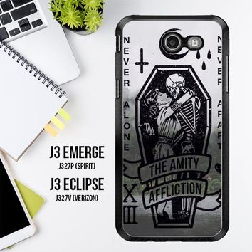 Amity Affliction Band L1344 Samsung Galaxy J3 Emerge, J3 Eclipse , Amp Prime 2, Express Prime 2 2017 SM J327 Case