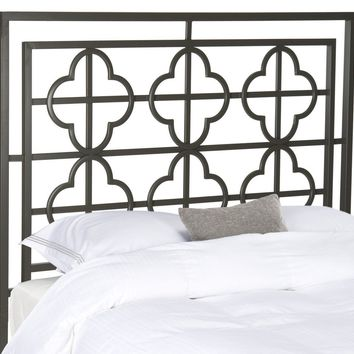 Lucina Gunmetal Headboard Full