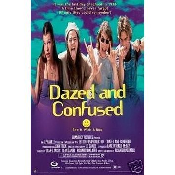 (22x34) Dazed and Confused Movie Group Poster Print