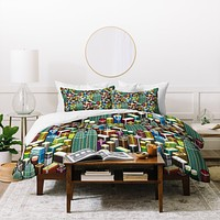 Raven Jumpo Kl City Duvet Cover