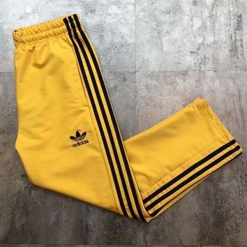 ADIDAS Hot Sale Multicolor Trouser Women Men ELASTIC WAISTBAND Lovers Pants