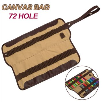 Pencils Canvas Bag (72 Slots)