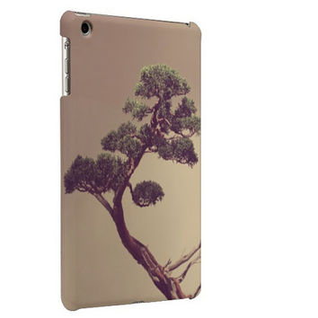 Ipad Mini Case with Fine Art Photograph, Bonsai Tree Photograph
