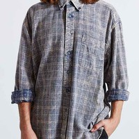 Urban Renewal Recycled Washed Out Flannel Shirt- Assorted