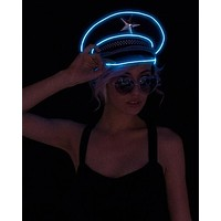 Light Up Military General Hat