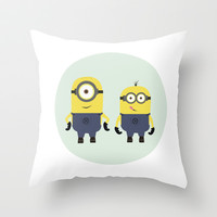 PP - Minions Throw Pillow by Lalaine Lim