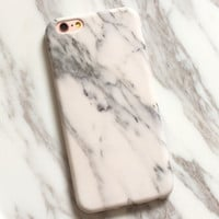 Beige Marble Stone iPhone 7 7Plus & iPhone 6s 6 Plus Case Cover +Gift Box