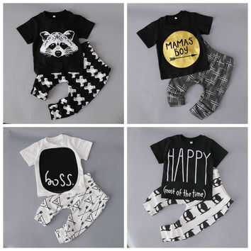 Adorable Trendy Boys Clothing Sets. Shirt and Pants.