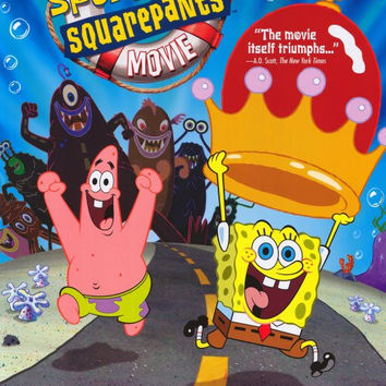 SpongeBob SquarePants Movie 27x40 Movie Poster (2004)