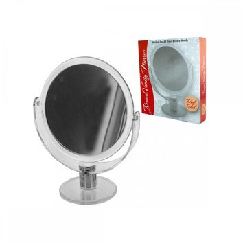 Stand Up Vanity Mirror Dual Sided OC636