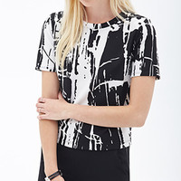 Paint Splattered Boxy Top