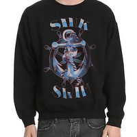 RUDE Sink Or Swim Crewneck Sweatshirt