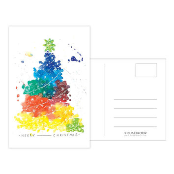 Have A Colourful Xmas by Vivien Yeo