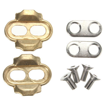 NEW !For RockBros Premium Strength Brass Cleats Crank Brothers Eggbeater Candy Smarty Acid Mallet Pedals Bicycle Accessories
