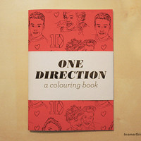 One Direction - A Colouring Book - 5 x 7 in
