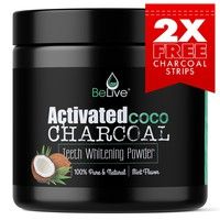Organic Coconut Activated Charcoal Powder for Teeth Whitening