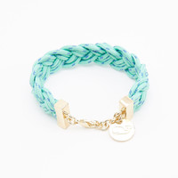 Braided Cord Whale Bracelet