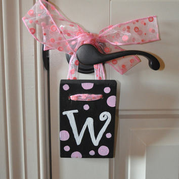 Wooden Wall Letter W 3 1/2 x 5 by dlynnart on Etsy