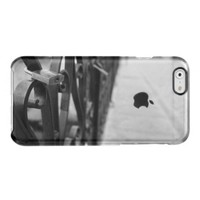 Case: European Bridge and Love Lock Uncommon Clearly™ Deflector iPhone 6 Case