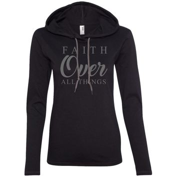 Christian Faith Over All Things T-Shirt Hoodie