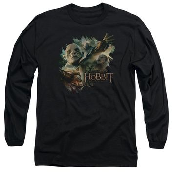 Hobbit - Baddies Long Sleeve Adult 18/1 Officially Licensed Shirt