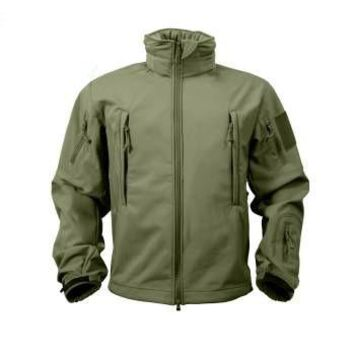 Special Ops Tactical Soft Shell Jacket | Olive