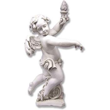BELLACOR F69116DS Dusted Sand Rococo Angel Right - (In DS - Dusted Sand)