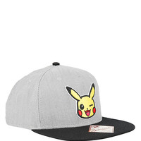 Pokemon Pikachu Chambray Snapback Hat