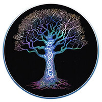 Cool Hippie Celtic Tree Decal Cars Trucks Guys Girls Men Women Laptop Stickers