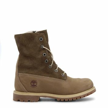 Timberland Auth-Teddy-Fleece Women Brown Ankle boots