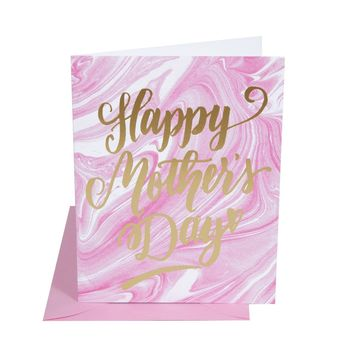 THE SOCIAL TYPE MOTHER'S DAY MARBLE CARD